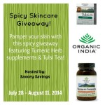 Spicy-Skincare-Organic-India-Giveaway-July-28-August-11