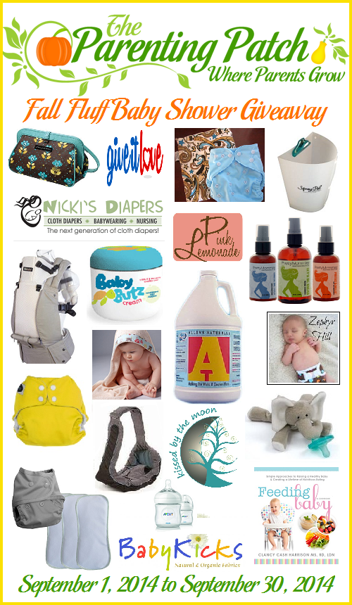 2014-09-01 Fall Fluff Baby Shower Giveaway