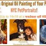NYC PetPortaits Giveaway