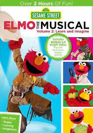 Enter the Sesame Street: Elmo the Musical Volume 2: Imagine and Learn Giveaway. Ends 5/17