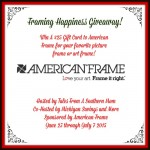 Win $25 to American Frame