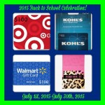 Back to School Celebration Giveaway