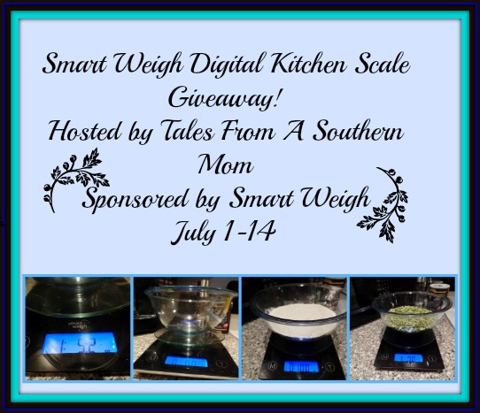 Smart Weigh Digital Kitchen Scale Giveaway