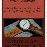 Do Good Be Good Arvo Watch Giveaway