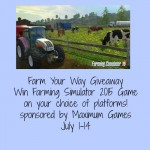 Farm Your Way Giveaway