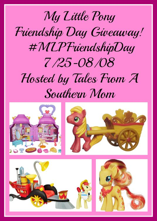Enter the My Little Pony Giveaway. Ends 8/8