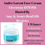Andre Lorent Face Cream Giveway