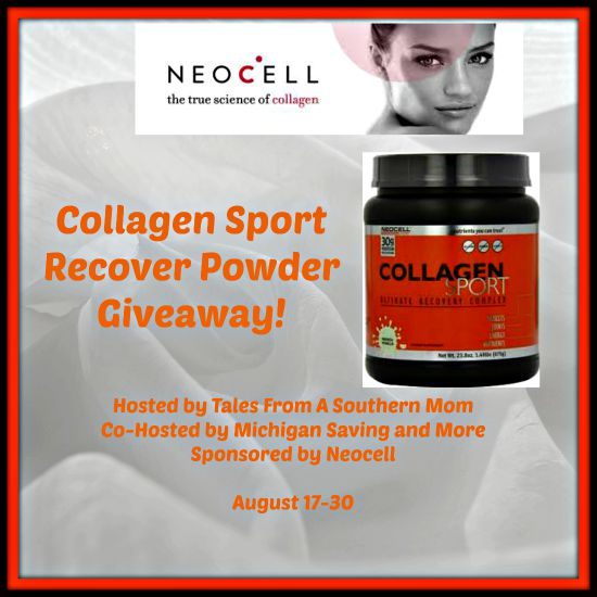 Neocell Collagen #Sport Recover Powder #Giveaway ends 8/30