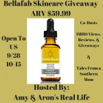 Bellafab Vitamin C Serum Giveaway
