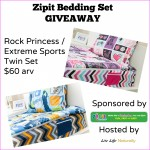 Zipit Bedding Set Giveaway shark tank