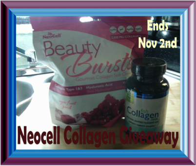 Neocell Collagen Giveaway 11/02