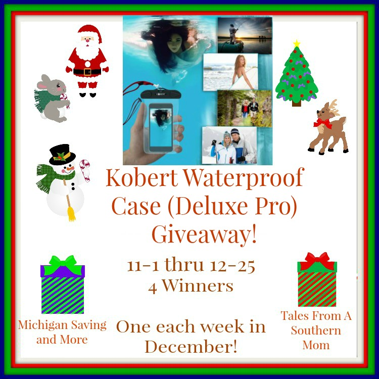 Enter the Kobert International Waterproof (Deluxe Pro) Case Giveaway. End 12/25