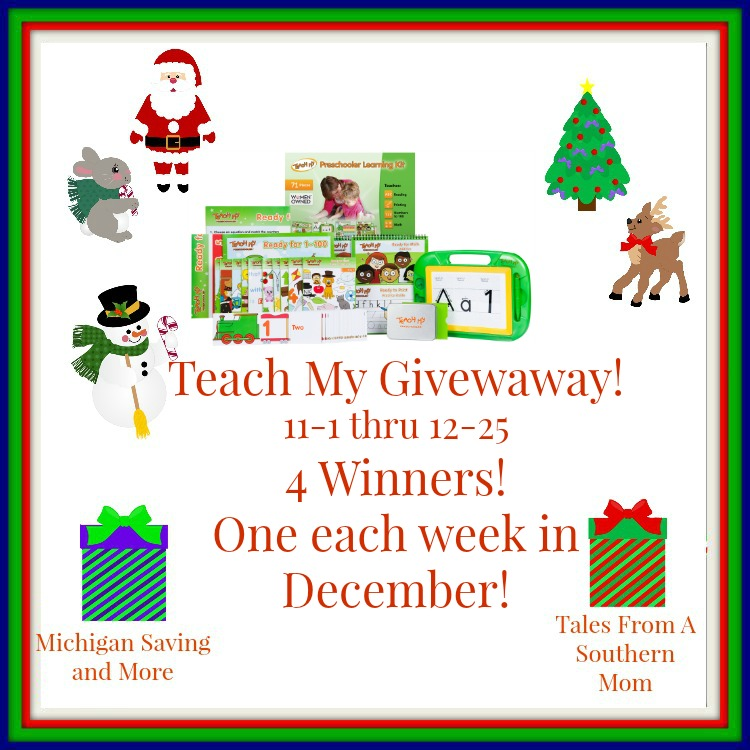 Enter the Teach My Choice of Deluxe Edition Giveaway. Ends 12/25