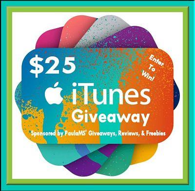 $25 iTunes Giveaway 12/15