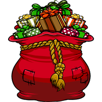 Santa's Bag Of Gifts Giveaway 12/15