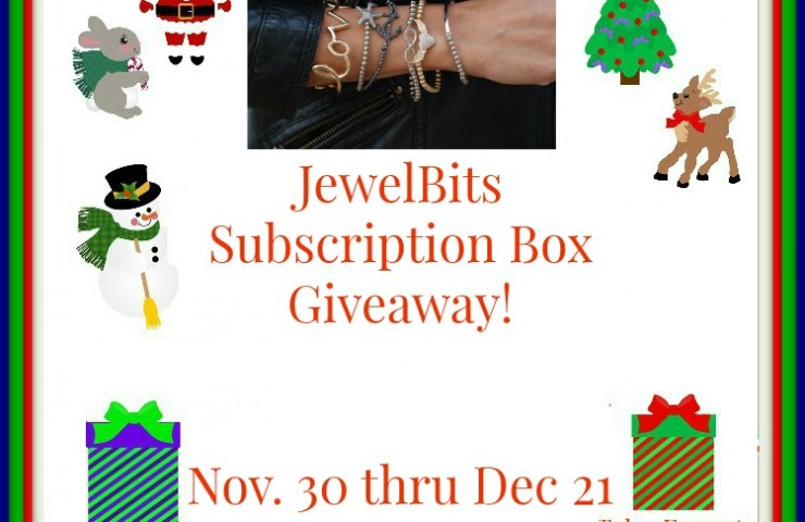 JewelBits Subscription Box Giveaway 12/21