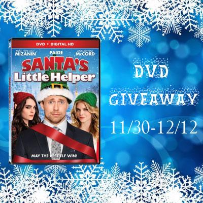 Santa's Little Helper DVD Giveaway 12/12