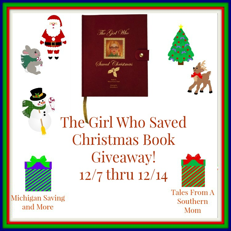 Enter to win Girl Who Saved Christmas Book Giveaway. Ends 12/14