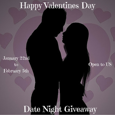 Happy Valentines Day Date Night Giveaway 2/5