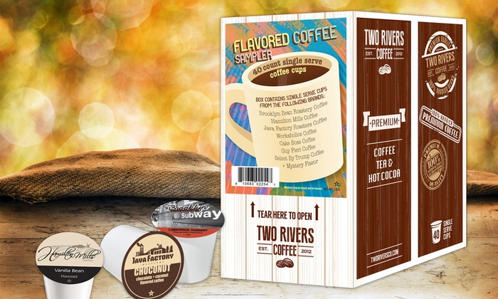 Flavored Coffee Sampler! Wake up to flavor!
