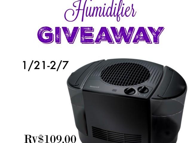 Honeywell Humidifier Giveaway 02/07