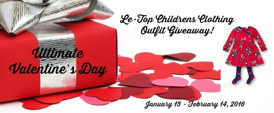 Enter the Le Top Childrens Outfit Giveaway. Ends 2/14