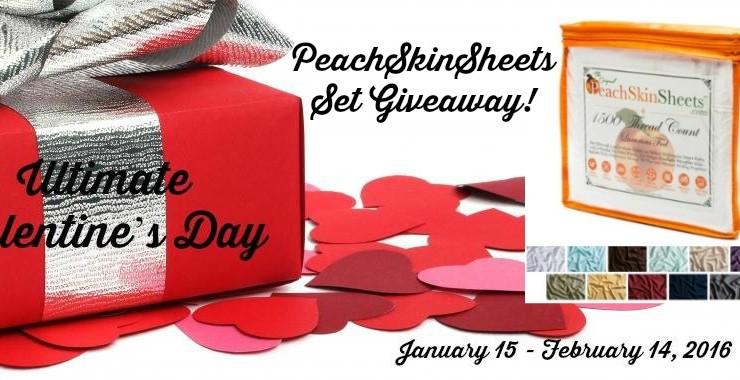 PeachSkinSheets Giveaway 02/14