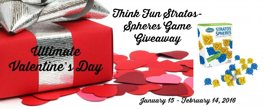 Enter the Think Fun Stratos Spheres Game Giveaway! Ends 2/14