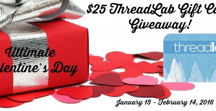 ThreadLab $25 Gift Card Giveaway! 02/14