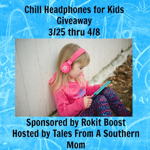 Enter the Chill Headphones Giveaway. Ends 4/8