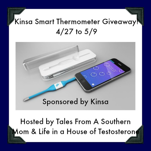 Enter the Kinsa Smart Thermometer Giveaway. Ends 5/9