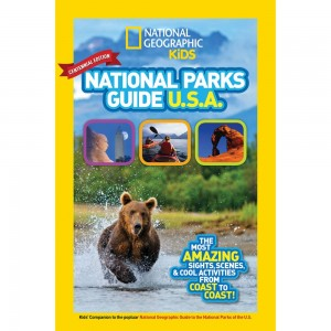 1 Lucky Winner Will Receive a Buddy Bison's Yellowstone Adventure and National Geographic Kids National Parks Guide USA Centennial Edition