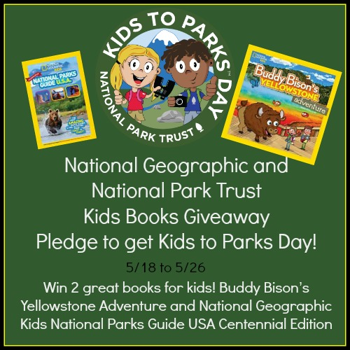 Enter the Buddy Bison Goes to Yellowstone Giveaway. Ends 5/26